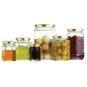 Tala-6-Pk-Preserve-Pickle-Jam-Jar-Tumbler-Glass-Storage-Container-With-Screw-Lid
