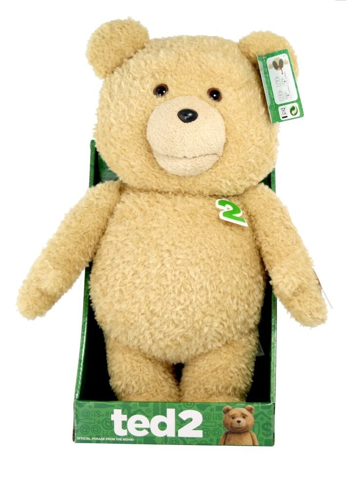 Ted 2 - 16  mund bewegte animierte plüsch explizite version brand new in box