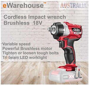Ozito-PXC-18V-Cordless-Brushless-Impact-Wrench-Skin-Only