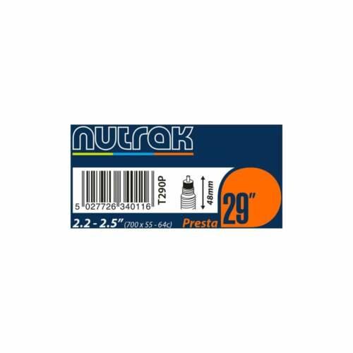 Nutrak 29 X 2.2-2.5 in PRESTA Tube Intérieur environ 6.35 cm