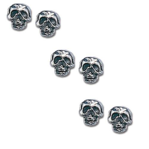 Alchemy Gothic Schädel-Hemd Buttons 6