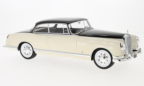 Mercedes 300b Pininfarina 1955 Beige   Dark marron 1 18 Model BOS MODEL