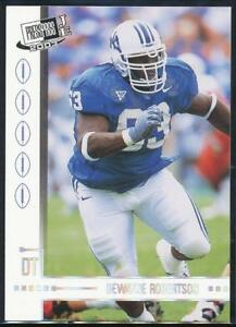 2003-Press-Pass-JE-Tin-Football-Card-CT32-DeWayne-Robertson