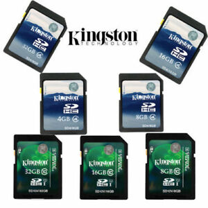 Kingston-4GB-8GB-16GB-32GB-SD-SDHC-Class-4-Class10-Memory-Card-for-Cameras-New