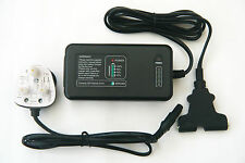 Battery Charger for Powakaddy - Automatic Pulse Control - Full 2 Year Warranty