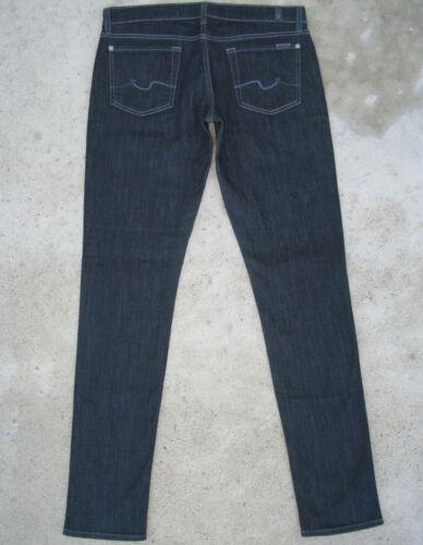 Slim Sz 31 W Pour tous Jeans Blue Skinny 190 les Dark Nouveau 7 Roxanne hommes Stretch H08nY
