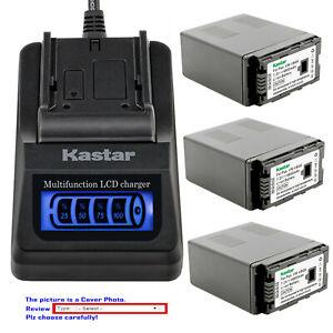 Kastar-Battery-LCD-Quick-Charger-for-Panasonic-VW-VBG6-amp-AG-HMR10P-Camcorder