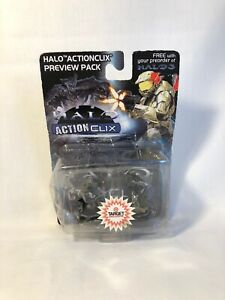 Neuf-non-ouvert-2007-wizkids-Halo-ActionClix-PREVIEW-PACK-2-figures-de-cible