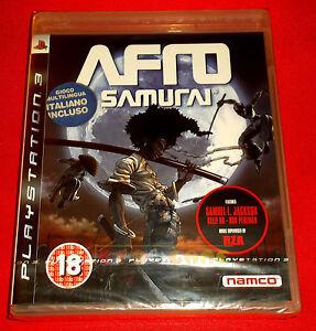 AFRO-SAMURAI-Ps3-Versione-Inglese-gioco-in-Italiano-1-Edizione-NUOVO