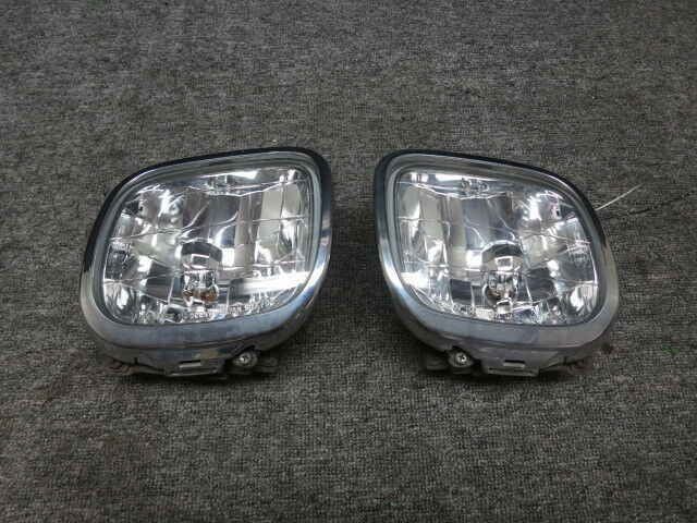 Jdm 97 02 Subaru Forester Sf5 Genuine Clear Front Per Fog Lights Lamps Lens