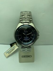 SEIKO,MEN,THE GREAT BLUE,KINETIC AUTO RELAY, WR100M,NEW OLD STOCK,FREE SHIPPING