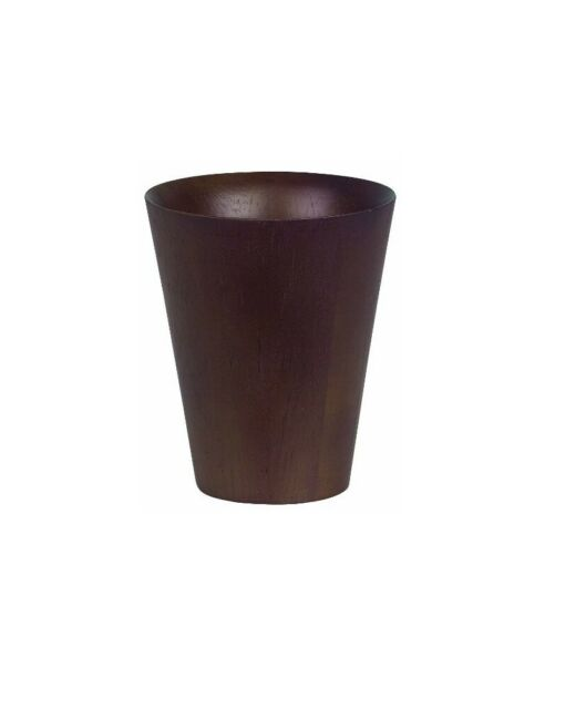 Spirella Max Lumière Wood / Caoutchouc Wood / Walnut Tasse de Brosse à Dents