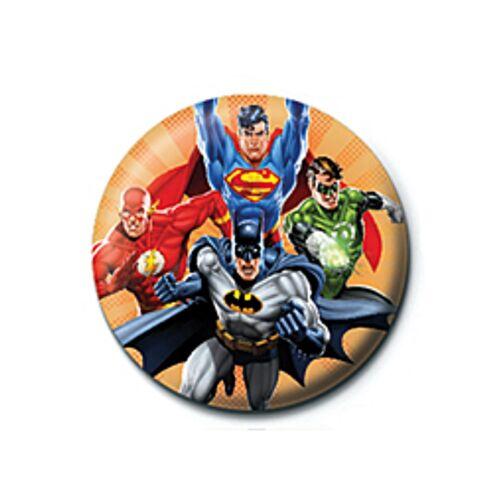 Genuine DC Comics Retro Button Badge Pin Superman Batman Suicide Squad Flash
