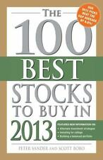 The 100 Best Stocks to Buy in 2013 (100 Best Stocks You Can Buy)