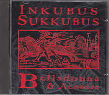 INKUBUS SUKKUBUS - belladonna & aconite CD