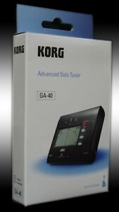 KORG-GA-40-Advanced-Solo-Sintonizzatore-Chitarra-und-Bass-Accordatore