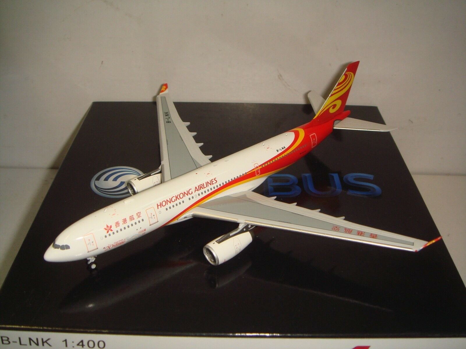 Hong Kong Airlines HX A330-200  2000s color- HKSAR 20th anniversary  1 400 B-LNK
