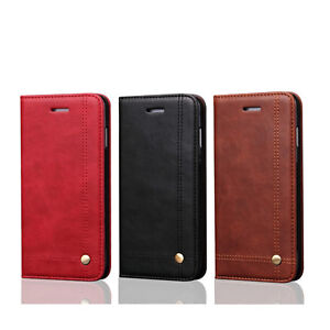 NEW-Soft-Magnetic-Retro-Style-Leather-Style-Wallet-Case-for-iPhone-8-Plus