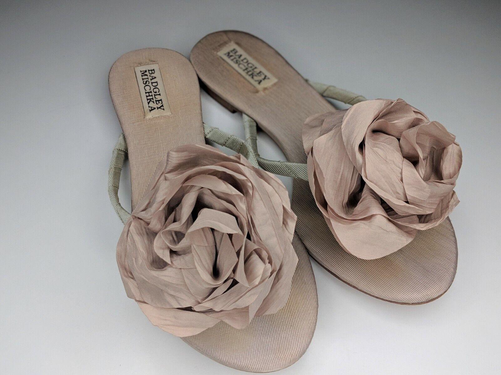 Badgley Mischka 'Isabel' rosatte Sandal, Sandal, Sandal, Beige, donna Dimensione 7,5 M bc84d6