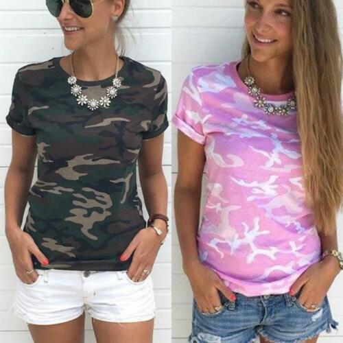 Female Women/'s Short Sleeve T-shirt Top Cotton Young Fashion Women/'s Clothing