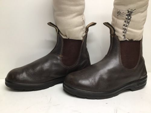 VTG MENS BLUNDSTONE WORK BROWN BOOTS SIZE 6