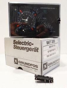 Grundfos SAT200 G 60010210 Steuergerät Pumpen Steuerung -unused - in OVP