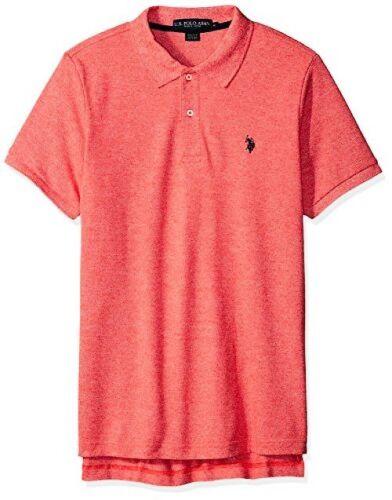 Polo Assn U.S Pick SZ//Color. Mens Classic Fit Solid Short Sleeve Pique Shirt