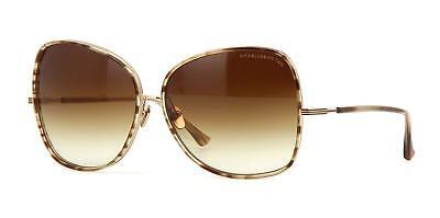 Dita BLUEBIRD TWO 21011 B-BRN-GLD Sunglasses Brown Swirl-Shiny 12K Gold