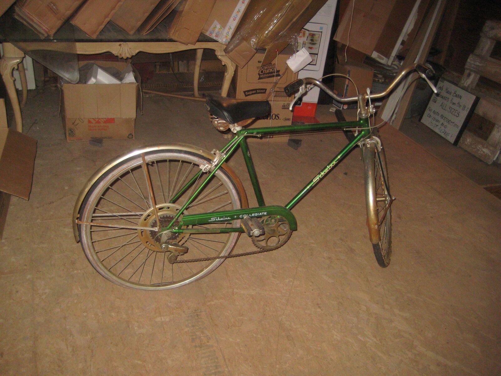 1960 S Schwinn Collegiate 5 Speed Vintage  Bike Men's Bicycle Antique  ORIGINAL  buy 100% authentic quality