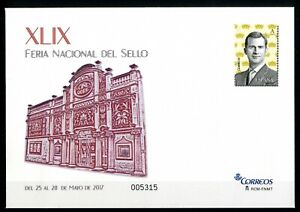 Sobre-Entero-Postal-Espana-Feria-Nacional-del-Sello-2017-Correos