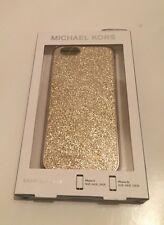 New Michael Kors iphone  6 6s Phone Case Cover Hard Case glitter Pale Gold $55