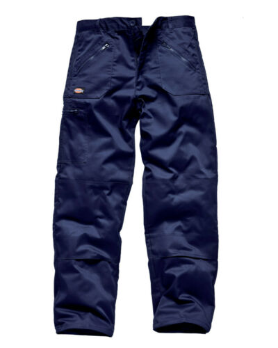 """WD814 Dickies Redhawk Action Pantalones De Trabajo Pantalones bolsillos de almohadilla para la rodilla 30/"""" 48/"""""""