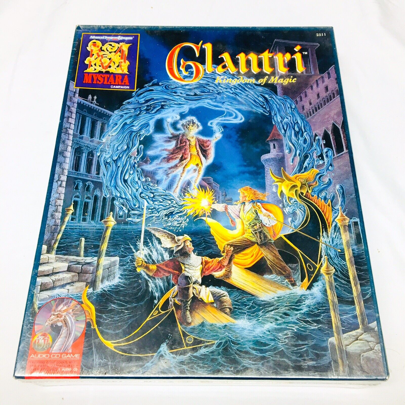 Glantri reino de magia MyEstrellaa Box Set NUEVO AD&D 2nd Ed. TSR Sellado Con Cd