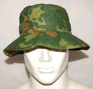 VIETNAM-WAR-MITCHELL-CAMOUFLAGE-CAMO-BOONIE-BUSH-HAT-L-32196