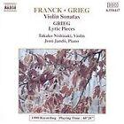 Franck, Grieg: Violin Sonatas (1991)