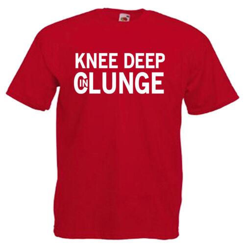 Knee Deep Clunge Festival Mens T Shirt 12 Colours Size S 3XL