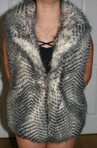 Med Bb Ny Vest Ingen Størrelse Medium Dakota Faux Fur Jack Mærker gTxYfOO