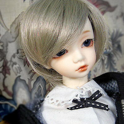 1//4 BJD MSD Wig 18-20 cm 7-8 inch Enfant Short Cut DM Carrot