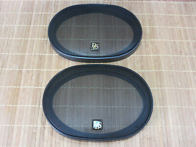 """High End Speakers Dls M3710 6x9"""" Grilles. New, Never Used."""