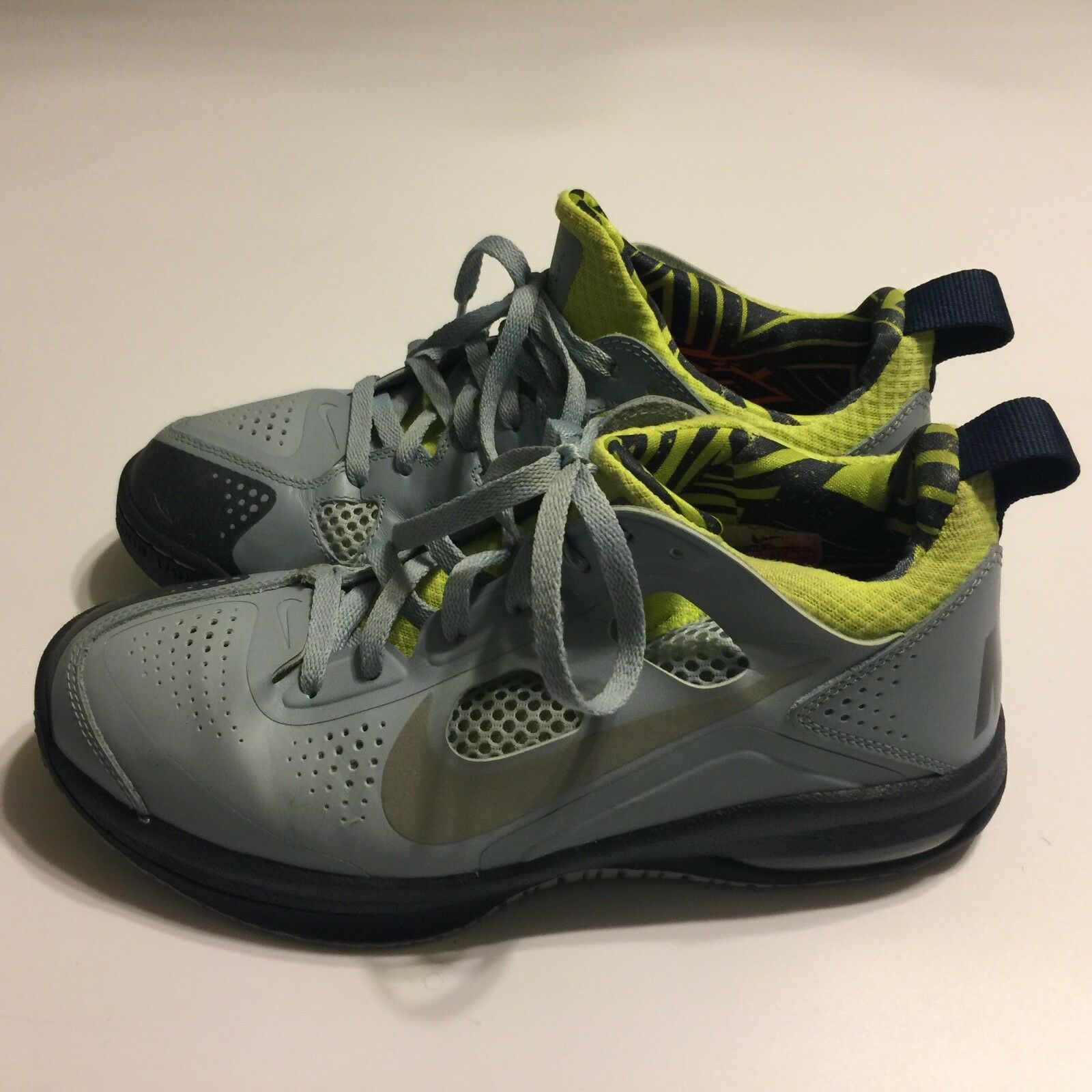 f3f1bfcb7db7e Nike Max Dominante XD 511367-400 Men Gray Basketball Basketball Basketball  Sport Gym Shoes Size