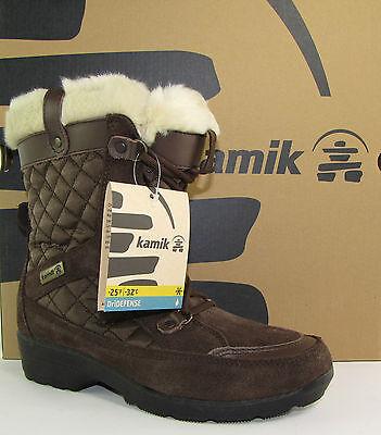 Kamik Soho NK2100 Damen Schneestiefel WinterBoots Outdoor EU37-43 Warm gefüttert