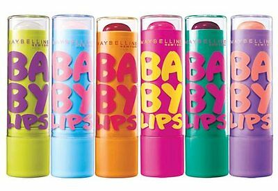 Maybelline Baby Lips Lip Balm. 8 Hours Of Hydration! Choose from 6 varieties.