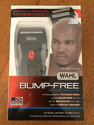 Wahl Clipper Bump Free Rechargeable Foil Shaver 7339 300 Ebay