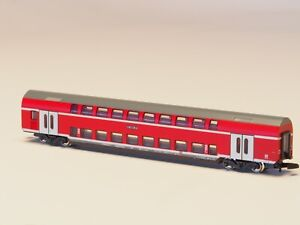 87291-Marklin-Z-scale-Bi-Level-passenger-Car-034-Regional-Express-Kassel-Hbf-034-NIB
