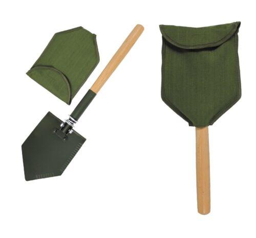 Pieghevole vanga M. manico in legno 60cm esercito Vanga vanga pala Borsa armyspaten