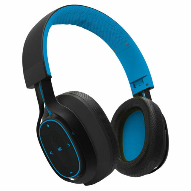 BlueAnt Pump Zone Wireless Sport HD Audio Headphones Up to 30 Hours Play - Blue