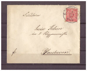 Wurttemberg-Minr-46-Stuttgart-apres-Blaubeuren-04-02-1897