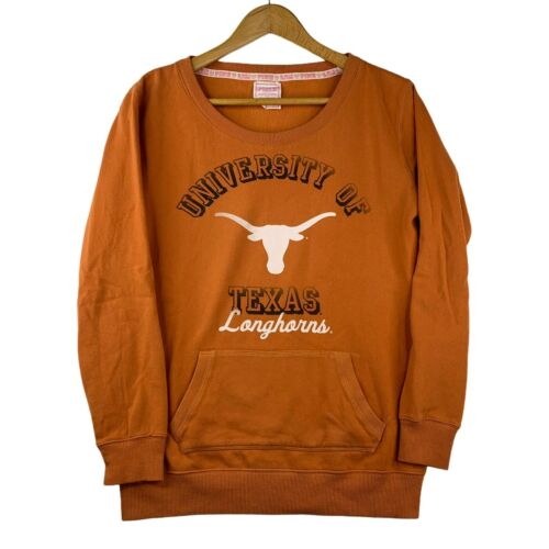 Victoria/'s Secret Pink Texas Longhorns UT Cropped zip up shirt size XS