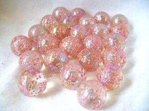 Antiquitäten & Kunst Neu 3 Prinzessin 42mm Pink Glasmurmeln Traditionelles Spiel Sammler Hom