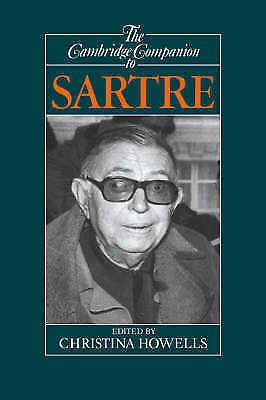 "1 of 1 - ""VERY GOOD"" Howells, Cambridge Companion to Sartre (Cambridge Companions to Phil"